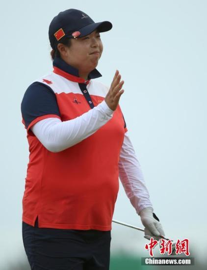 高尔夫球场的李娜 向世界证明自己