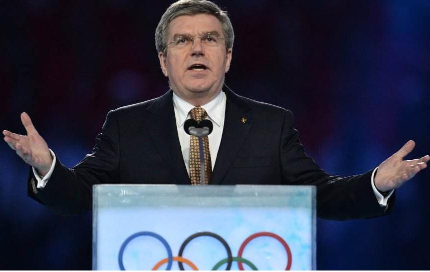 国际奥委会主席巴赫向中国人民拜年