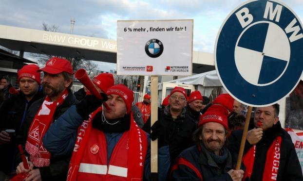德国工人赢得28小时工作周