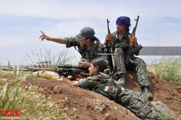 """勇气比拼谁先怂?土耳其提醒美军小心""""误伤"""""""