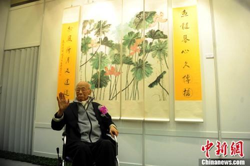 国学大师饶宗颐:不仅是学界泰斗,还精通书画
