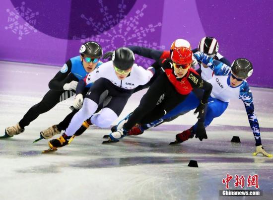 中国男子短道速滑5000米接力晋级决赛