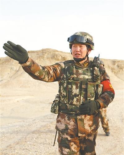 看我的!跟我上!武警新疆总队某支队长用行动赢得威名