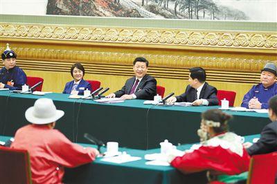 习近平在参加内蒙古代表团审议时强调:扎实推动经济高质量发展 扎实推进脱贫攻坚