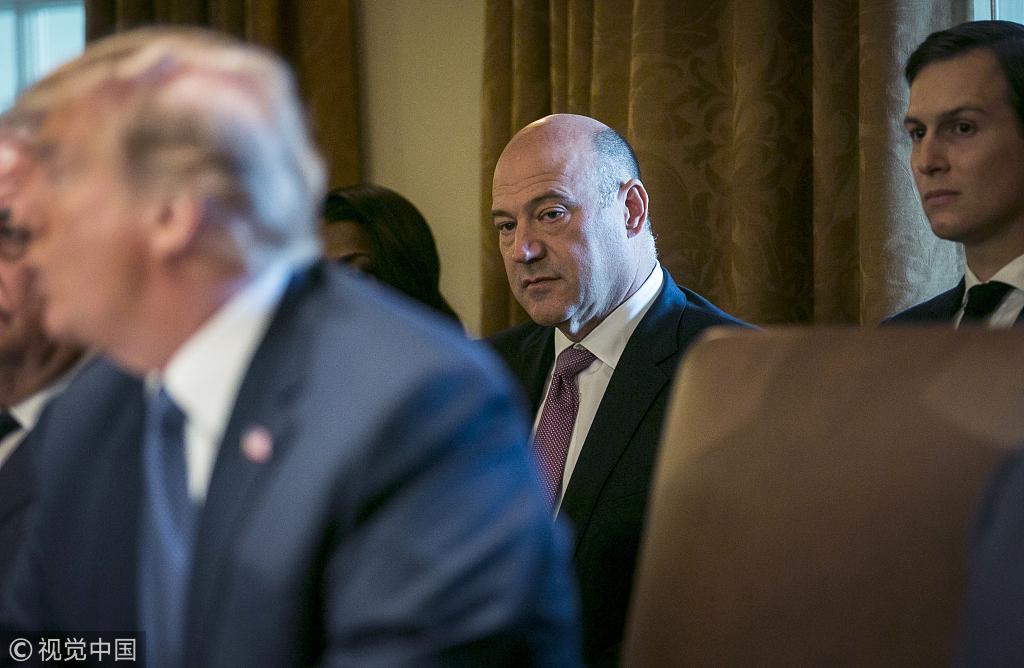特朗普首席经济顾问科恩辞职,因不满对进口钢铝征收重税