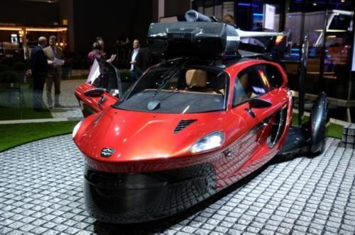 首款量产飞行汽车开放预订 首批产品2019年交付