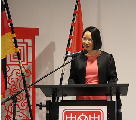 """第三届""""十全十美——中国当代女艺术家作品展""""在柏林举行"""