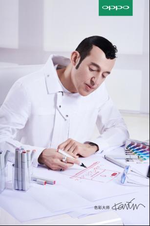 四国混血、只穿粉和白色,OPPO这位新设计师是谁?