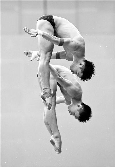 世界跳水系列赛北京站首日中国揽四金