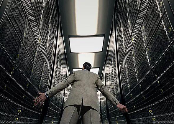 """大数据是一个""""黑箱"""" 们都是透明人"""