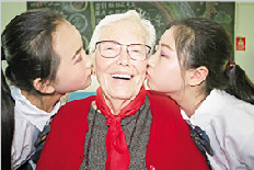 美国93岁老人班尼与岚皋25年的