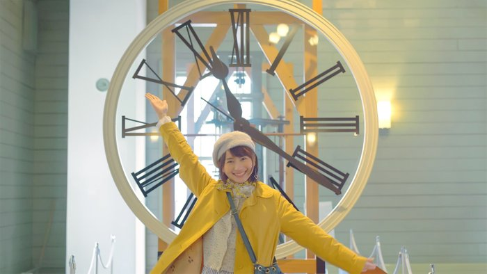 神似新垣结衣的中国女生龙梦柔在日本接拍首支广告
