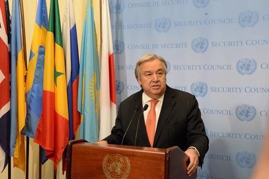 联合国秘书长古特雷斯对朝韩首脑会晤表示赞赏