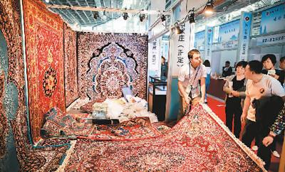 博览会吸引外国客商来