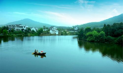 南京东山风景图片