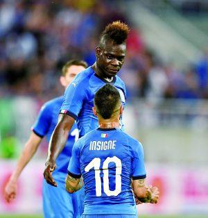 巴洛特利时隔四年再次入选意大利队 打进世界波
