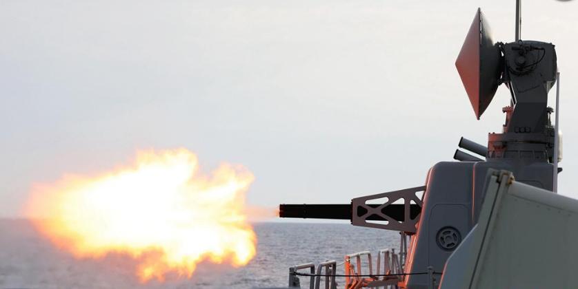 中国海军盐城舰圆满完成地区海上演习任务驶离拉各斯港