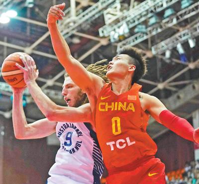 中国男篮红队获胜(动感2018)