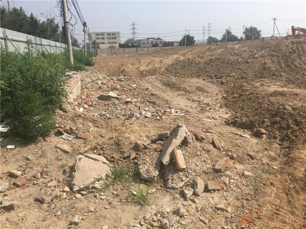 记者调查:通州台湖镇大量掩埋拆迁建筑垃圾污染环境