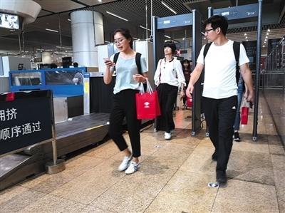 北京南站出站换乘地铁无需再安检