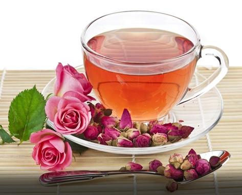 桂花玫瑰茶祛胃寒