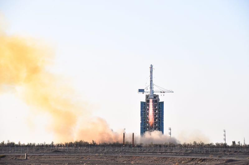 中法两国联合研制的海洋卫星成功发射