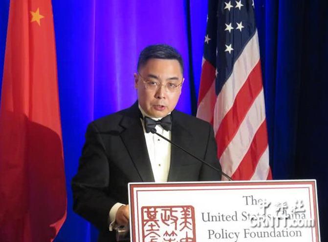 """中国驻美公使警告美方:""""一中框架""""若打破 中国没妥协空间"""