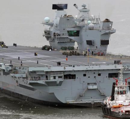 英航母要来南海?英专家:若真有冲突,中国1小时内就能击沉