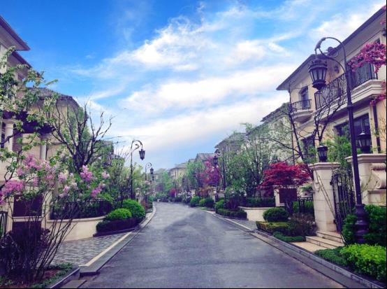 春天暖花开靠边时,滋润御府景物锦