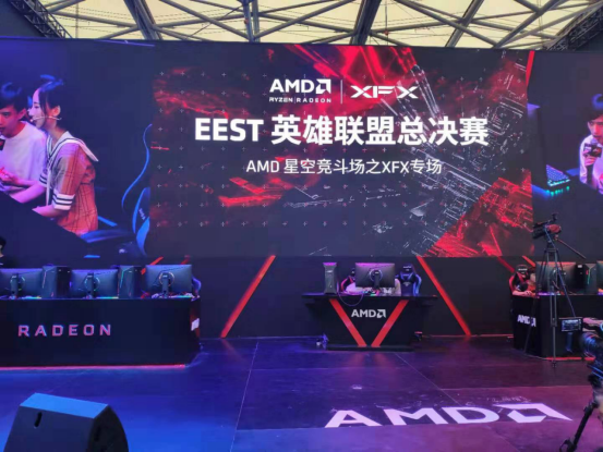2019EEST英雄联盟全国总决赛 在ChinaJoy正式开战