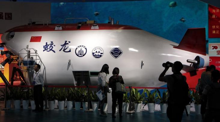 看群英闹海 海上高端装备亮相深圳海博会