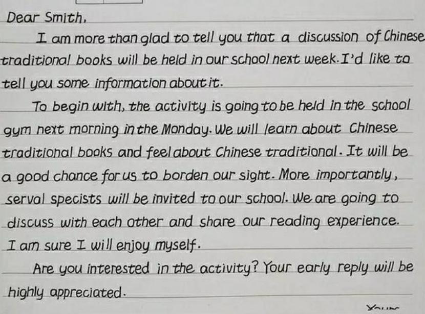 """中学生学霸把英文写成""""印刷体"""",不一般,专家:没有个性"""